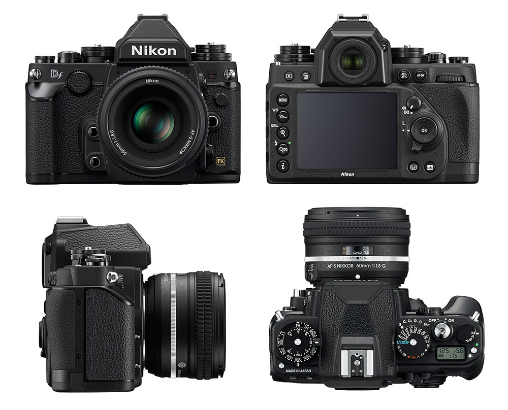 Nikon Df - Multiples vues