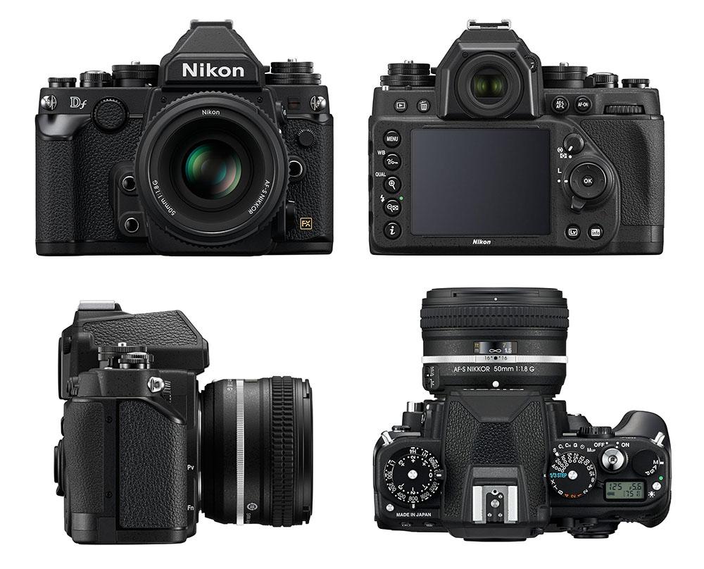 Nikon Df - Multiples vues